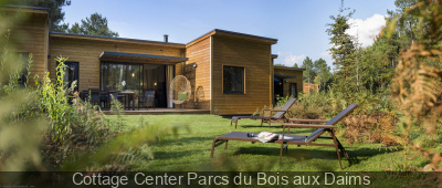 Cottage Center Parcs du Bois aux Daims